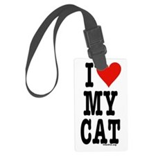HeartCatSigg3.25x6 Luggage Tag