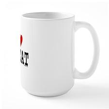 HeartCatPostcard4x6 Mug