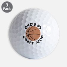 Basketball T-Shirt, Gifts for Dads Son, Golf Ball