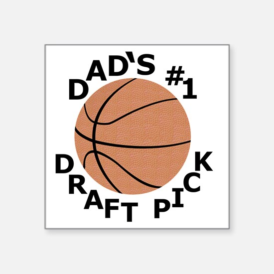 "Basketball T-Shirt, Gifts f Square Sticker 3"" x 3"""