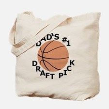 Basketball T-Shirt, Gifts for Dads Son, D Tote Bag