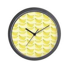 Banana FlipFlops Wall Clock
