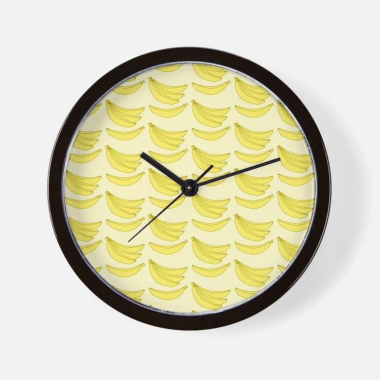 Banana FlipFlops Wall Clock