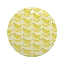 banana-ipsleeve Round Ornament