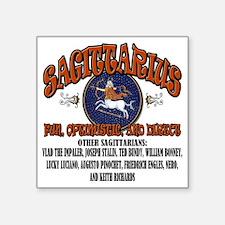"""Sagittarius Square Sticker 3"""" x 3"""""""