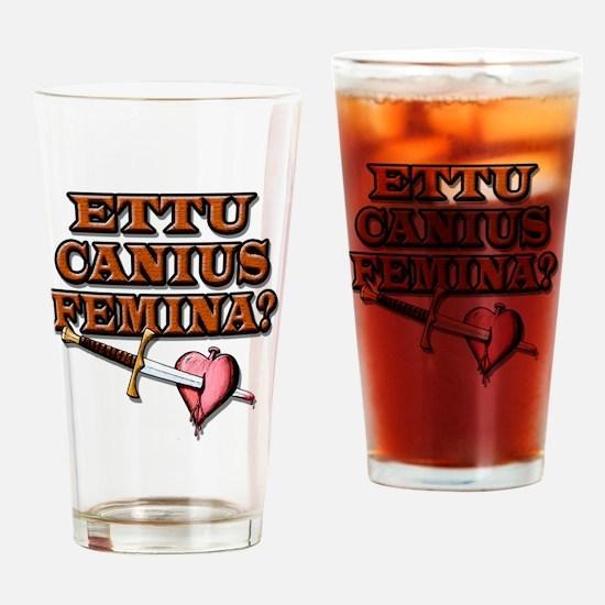 Ettu Canius Femina Drinking Glass