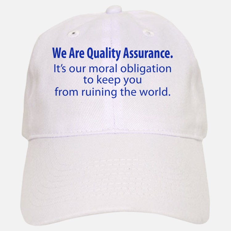 We Are QA Baseball Baseball Cap