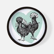 chick-houdan Wall Clock
