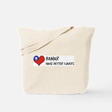 Myanmar - better lovers Tote Bag