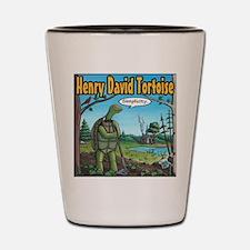 Henry David Tortoise Shot Glass