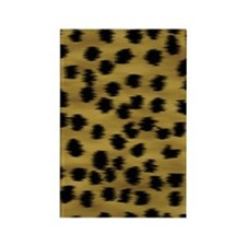 cheetah-brn2-ff Rectangle Magnet
