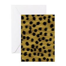 cheetah-brn2-ff Greeting Card