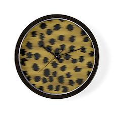 cheetah-brn2-ip Wall Clock