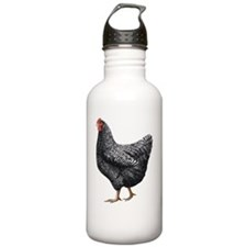 chick-barred Water Bottle
