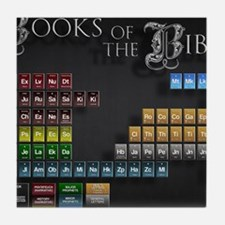 books of the bible 14x10 Tile Coaster