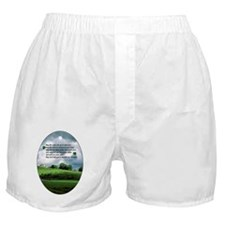 IRISH-BLESSING-OVAL-ORNAMENT Boxer Shorts