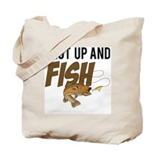 shut up and fish Tote Bag