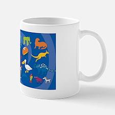 Alphabet Clutch Mug