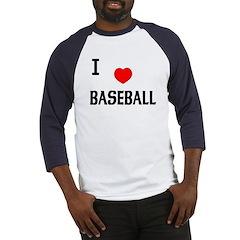 Love Baseball Jersey