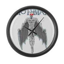 Mothman Large Wall Clock
