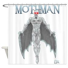 Mothman Shower Curtain