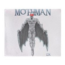 Mothman Throw Blanket