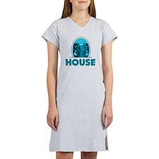 housebrauTeal Women's Nightshirt