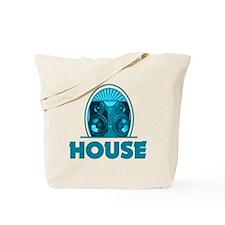 housebrauTeal Tote Bag