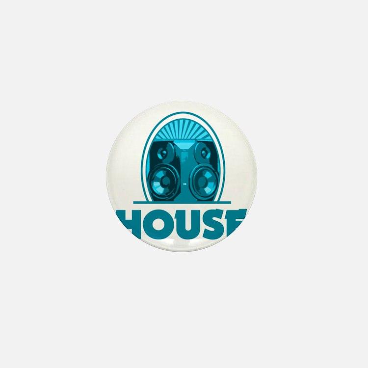 housebrauTeal Mini Button