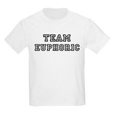 EUPHORIC is my lucky charm Kids T-Shirt