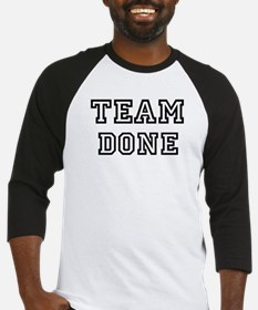 Team DONE Baseball Jersey
