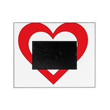 Lebanon Heart Picture Frame