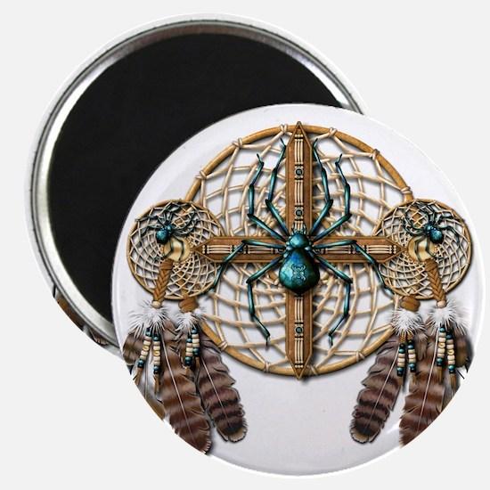 Labradorite Spider Dreamcatcher Magnet