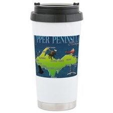 U.P. Vintage Travel Coffee Mug