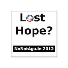 """losthopeV2 Square Sticker 3"""" x 3"""""""