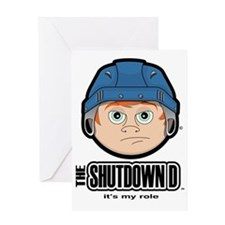 The Shutdown D Greeting Card