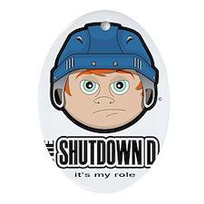 The Shutdown D Oval Ornament