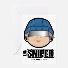 The Sniper Greeting Card