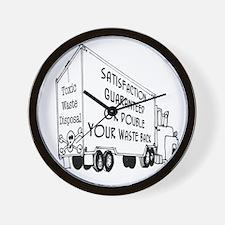 5769_truck_cartoon Wall Clock