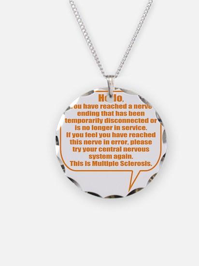 10x10 Hello Necklace Circle Charm