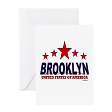 Brooklyn U.S.A. Greeting Card