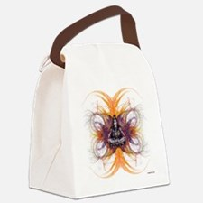 shiva on fractals Canvas Lunch Bag