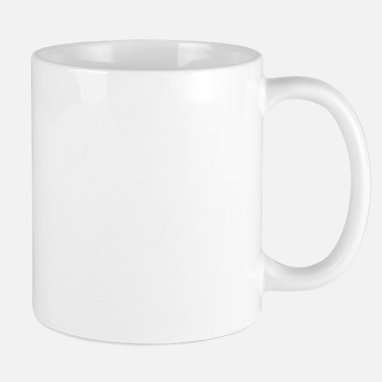 life begins - white Mug