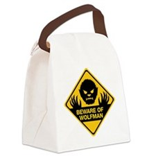 Beware_Wolfman Canvas Lunch Bag