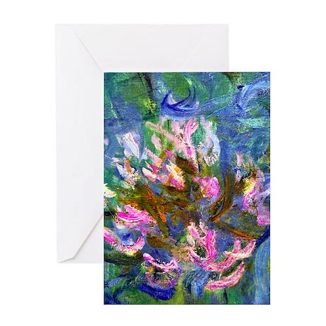 iPadS Monet Detail Greeting Card