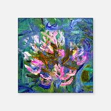 "NC Monet Detail Square Sticker 3"" x 3"""