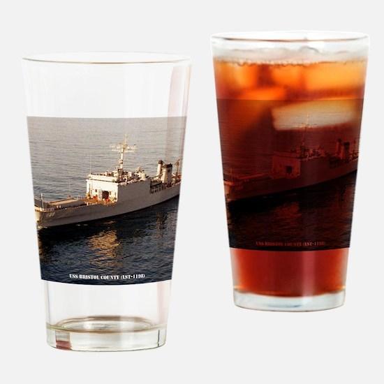 bristolco framed panel print Drinking Glass