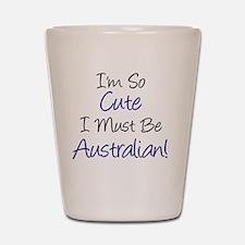 Im So Cute Australian Shot Glass