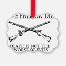 Live Free or Die_shirt Ornament