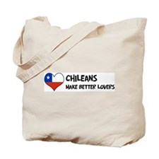 Chile - better lovers Tote Bag